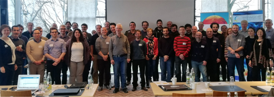 ESiWACE2 group photo from kick off meeting