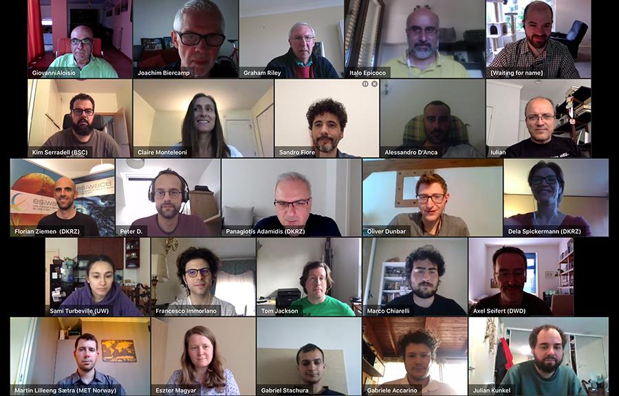 ETechECM Workshop 2020 participants